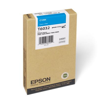 Epson T603200 cartouche d'encre originale cyan