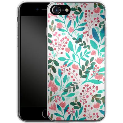 Apple iPhone 7 Silikon Handyhuelle - Bright Foliage von Iisa Monttinen