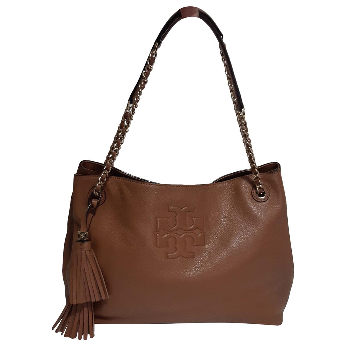 Tory Burch N Camel Leather handbag for Women N