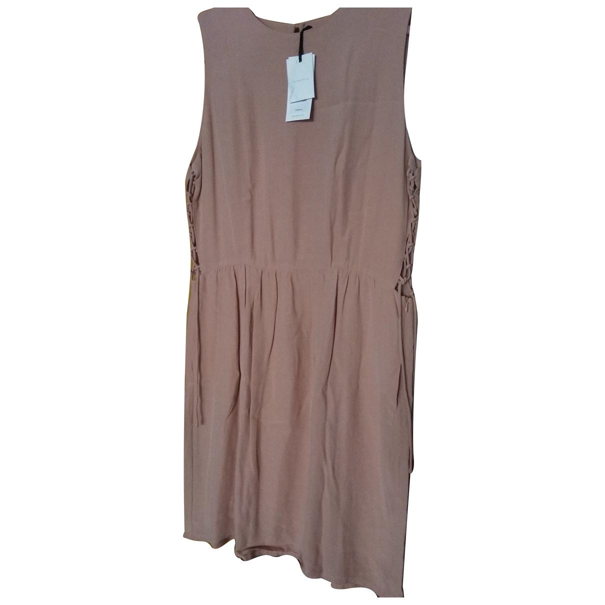 Hoss Intropia \N Kleid in  Rosa Viskose