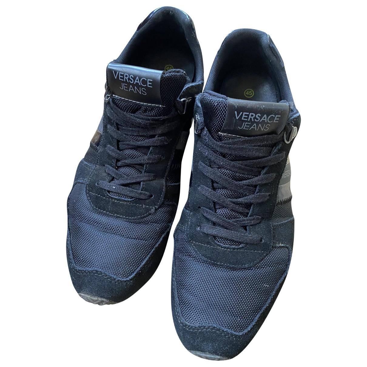 Versace Jean - Baskets   pour homme - noir