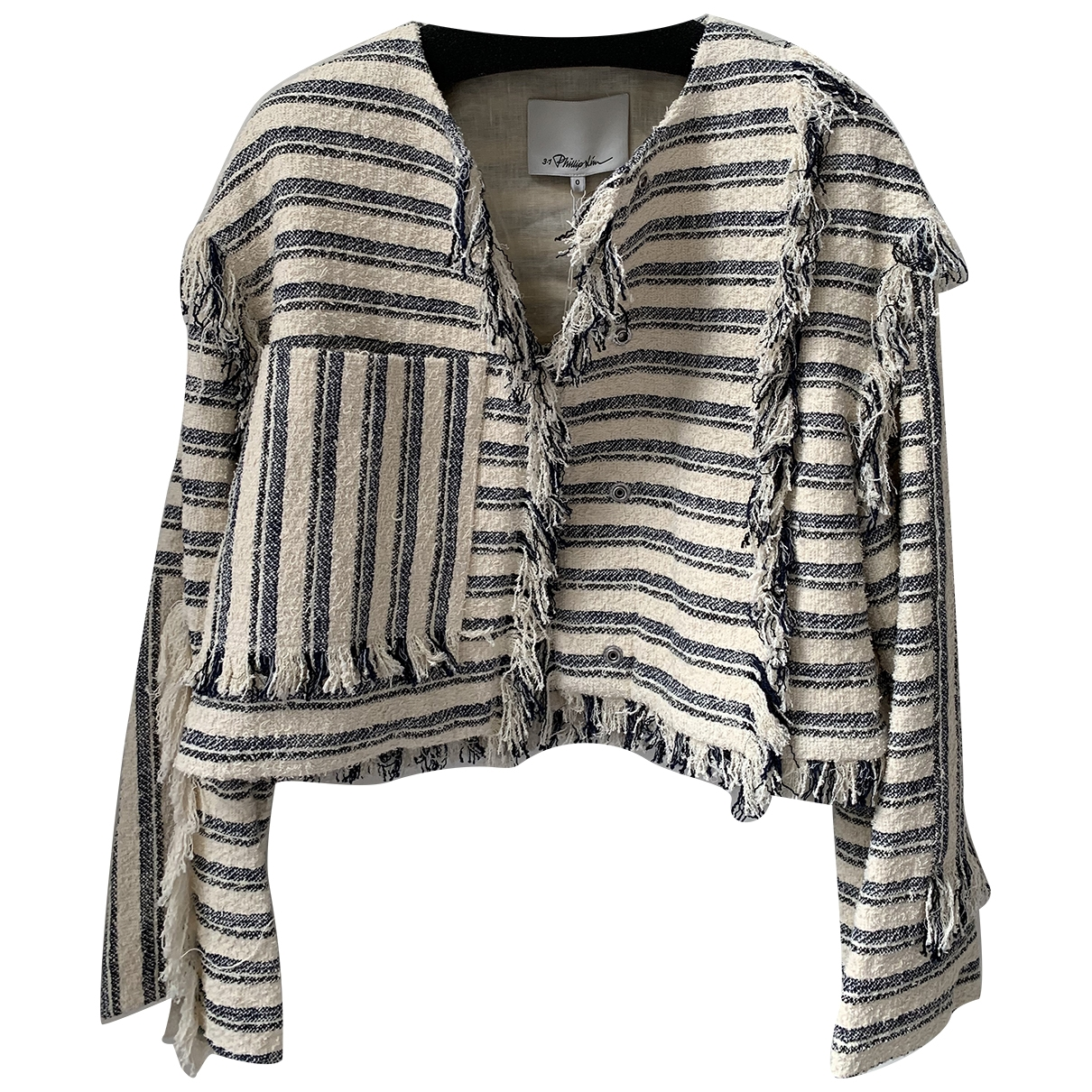 3.1 Phillip Lim \N Navy Cotton jacket for Women 0 0-5