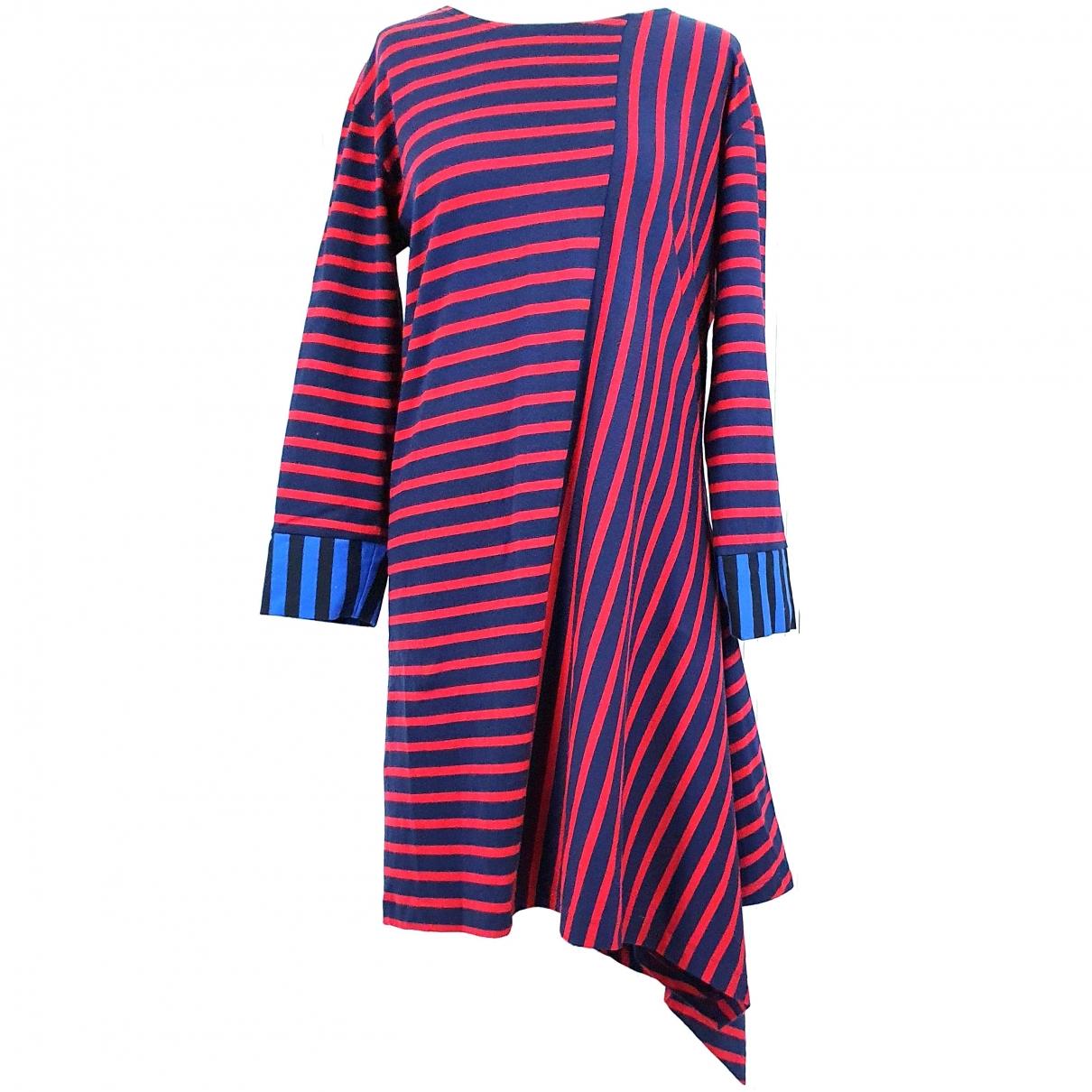 Stella Mccartney - Robe   pour femme en coton - rouge