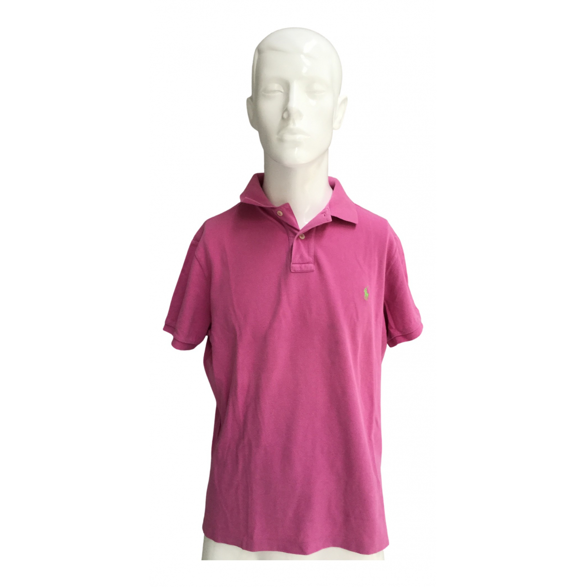 Polo Ralph Lauren \N Poloshirts in  Rosa Baumwolle