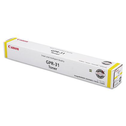 Canon GPR-31Y 2802B003AA Original Yellow Laser Toner Cartridge