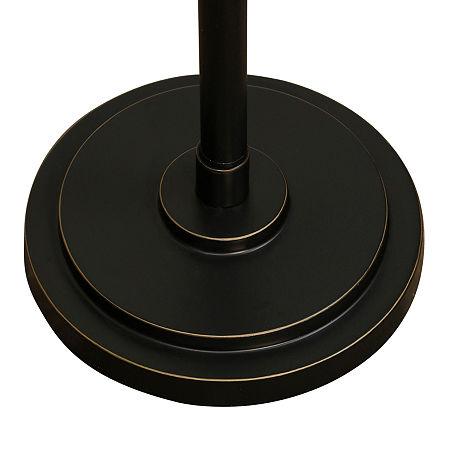 Stylecraft Madison Metal Floor Lamp, One Size , Brown