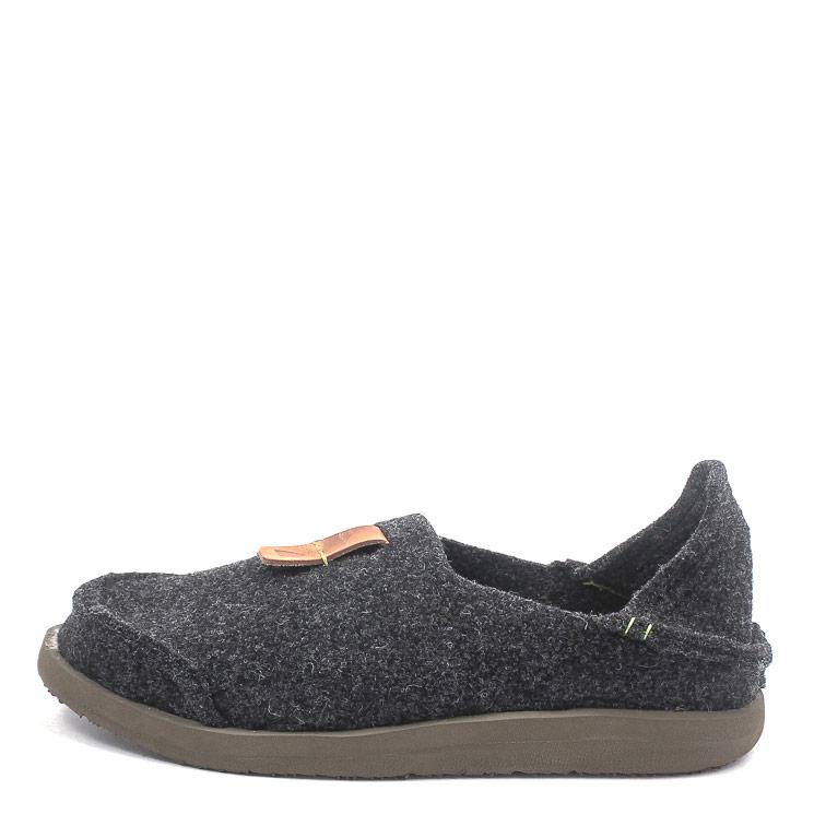 SATORISAN S.L., Uwabaki Men's Carpet Slippers, dark grey Größe 40