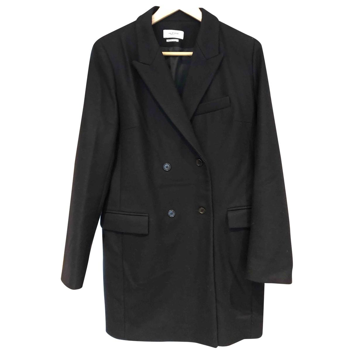 Isabel Marant Etoile - Manteau   pour femme en laine - noir