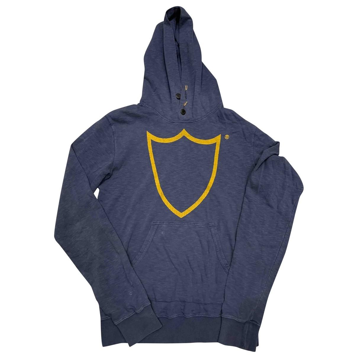 Htc \N Pullover.Westen.Sweatshirts  in  Blau Baumwolle