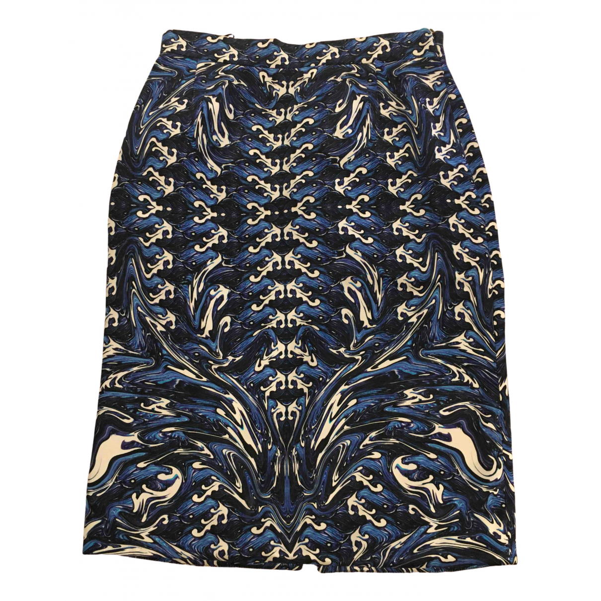 Fyodor Golan \N Blue Silk skirt for Women 10 UK
