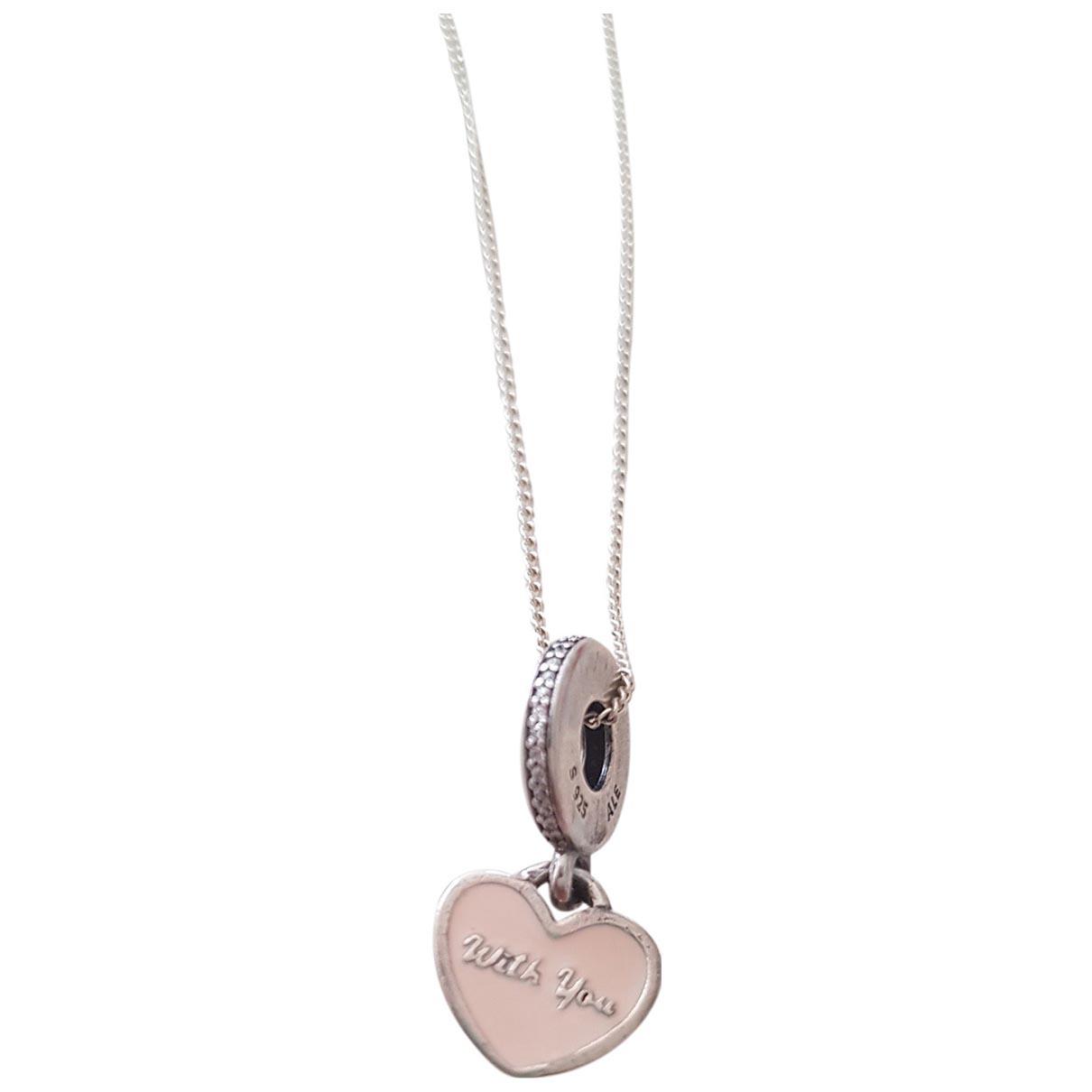 Pandora \N Kette in  Silber Silber
