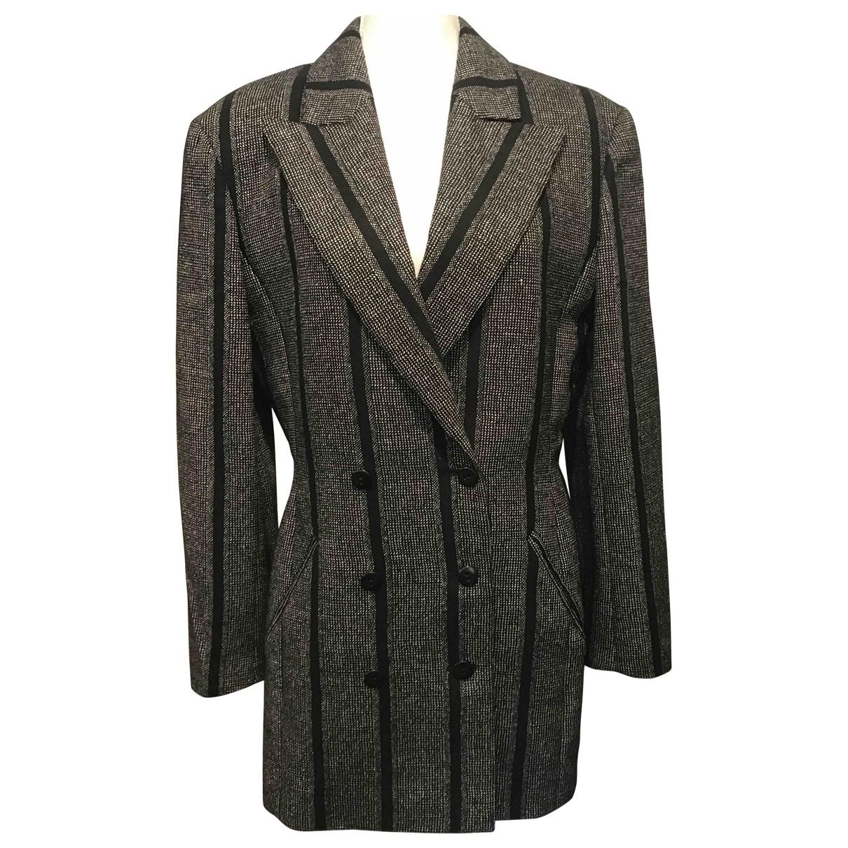 Karl Lagerfeld - Veste   pour femme en laine - multicolore