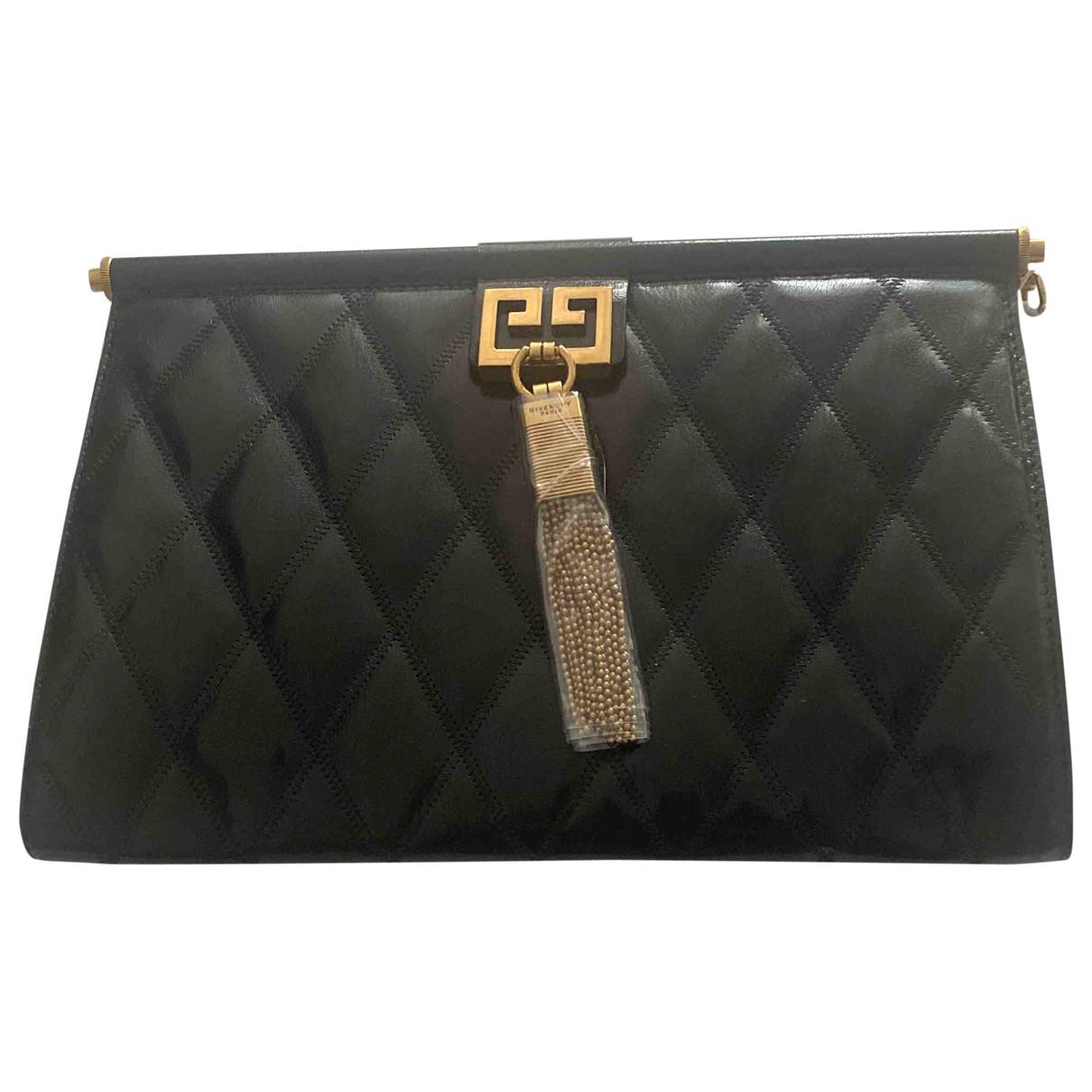 Givenchy Gem  Handtasche in  Schwarz Leder