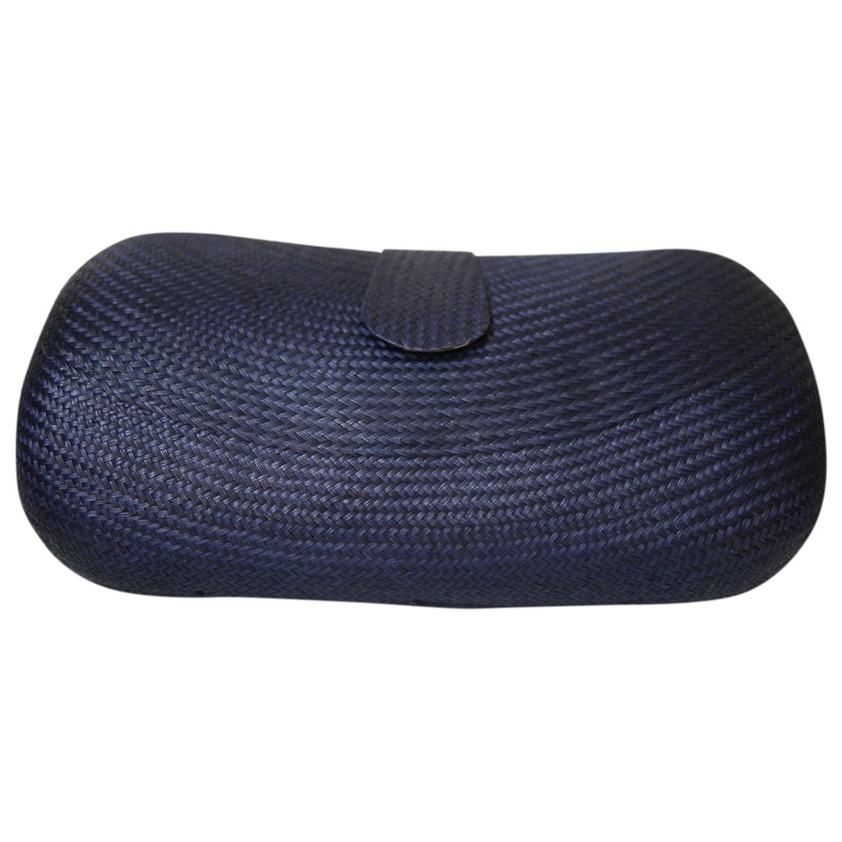 Lk Bennett \N Blue Wicker Clutch bag for Women \N