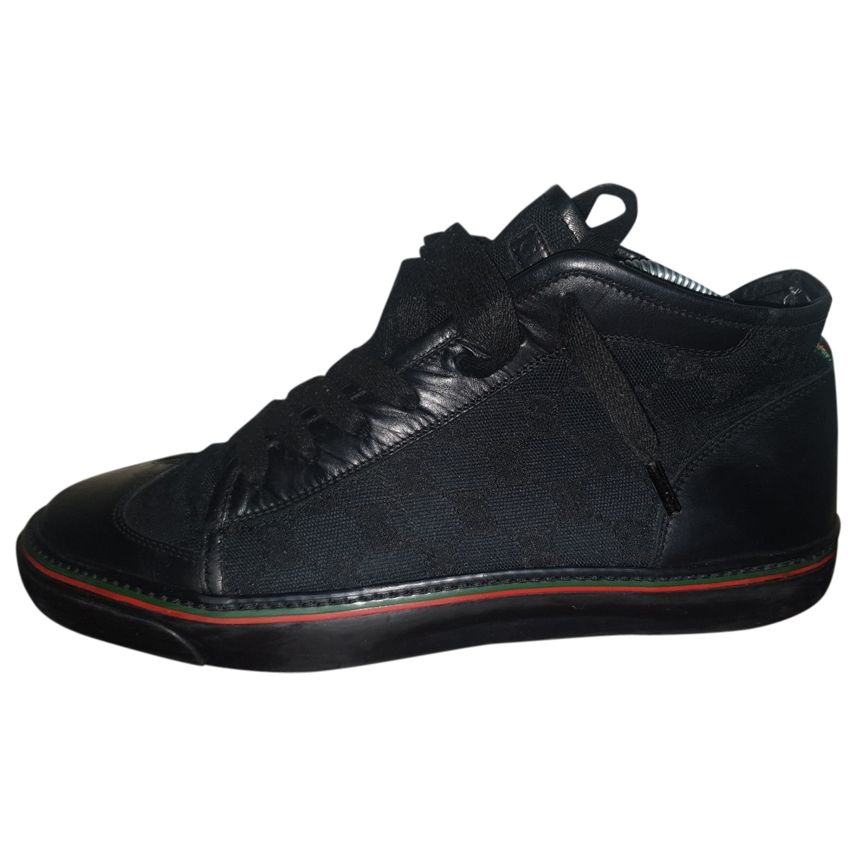 Gucci \N Black Cloth Trainers for Men 7 UK