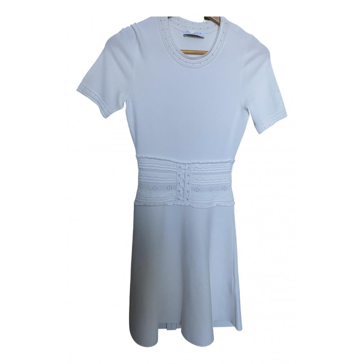 Sandro \N Kleid in  Weiss Polyester