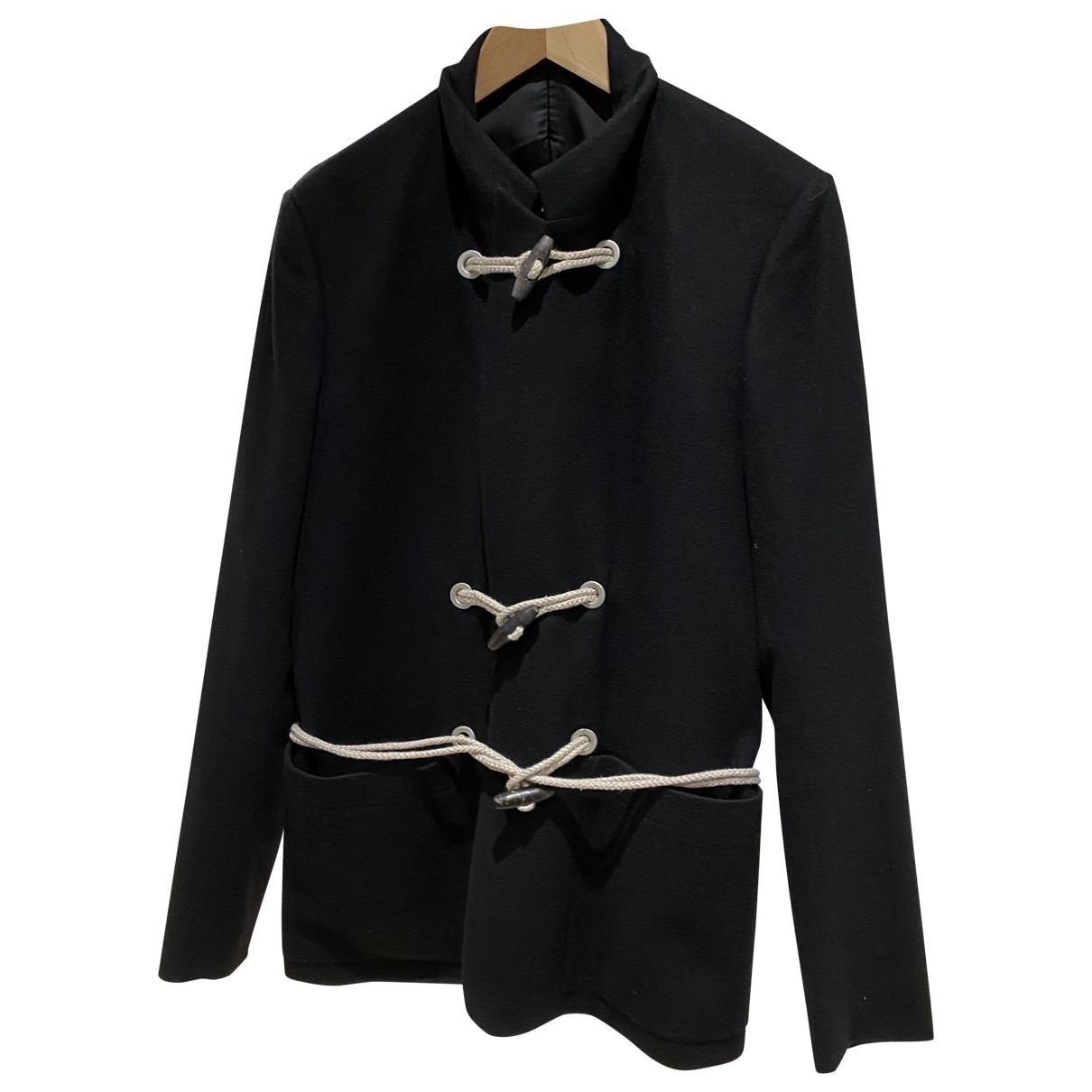 Dior Homme \N Black Wool coat  for Men 52 IT