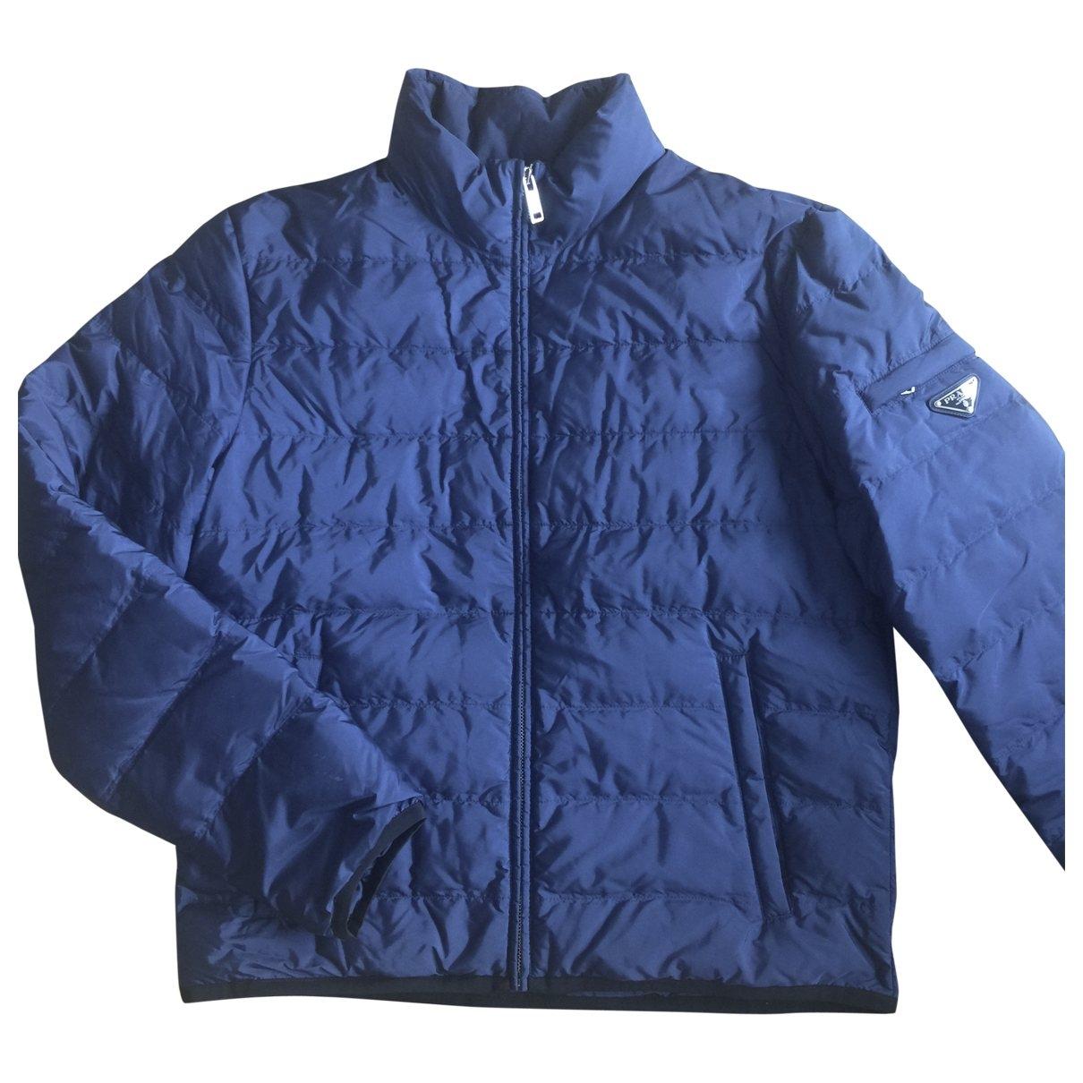 Prada \N Blue coat  for Men 50 IT