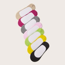 7pairs Colorful Invisible Socks
