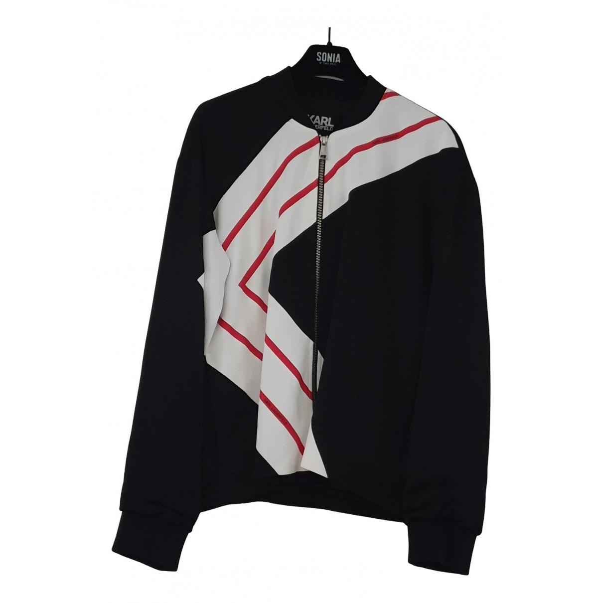 Karl Lagerfeld N Black jacket for Women 38 FR