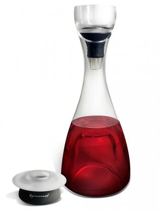 EP-HOLIDAYGFT01 Epicureanist Chilling Decanter and Trilux Wine