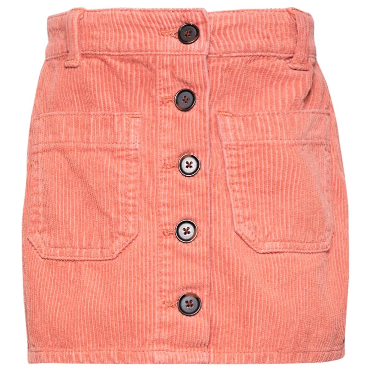 American Outfitters - Jupe   pour enfant en velours - rose