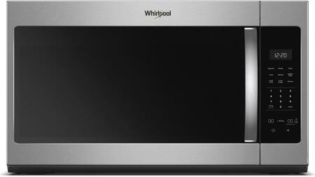 WMH31017HS Over the Range Microwave with 1.7 cu. ft  Capacity  1000 Watts  Turntable  220 CFM and 2 Fan Speeds  in Stainless