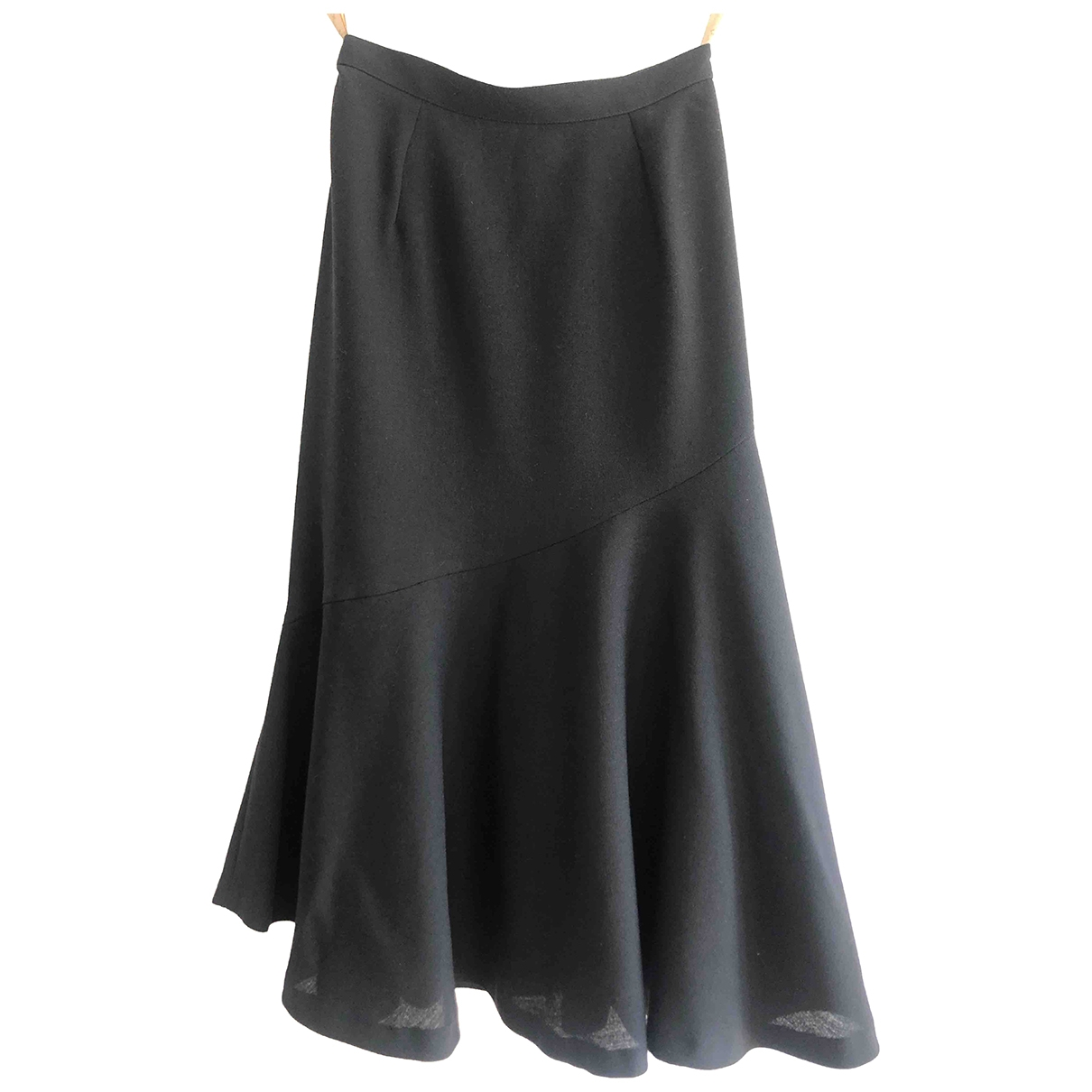 Non Signé / Unsigned \N Black Wool skirt for Women 36 FR