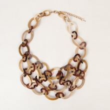 Halskette mit mehrschichtigen Ketten