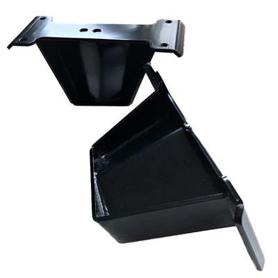 APOC Industries AP-LB-8-3-D25-0313 Steel Black Powdercoat 8 Lift Blocks Dodge Ram 2500   3500 03-13