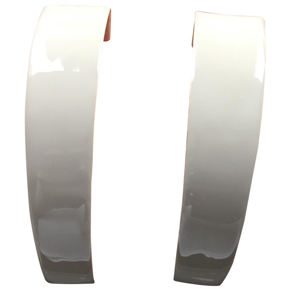 Zimmermann - Boucles doreilles   pour femme en metal - ecru