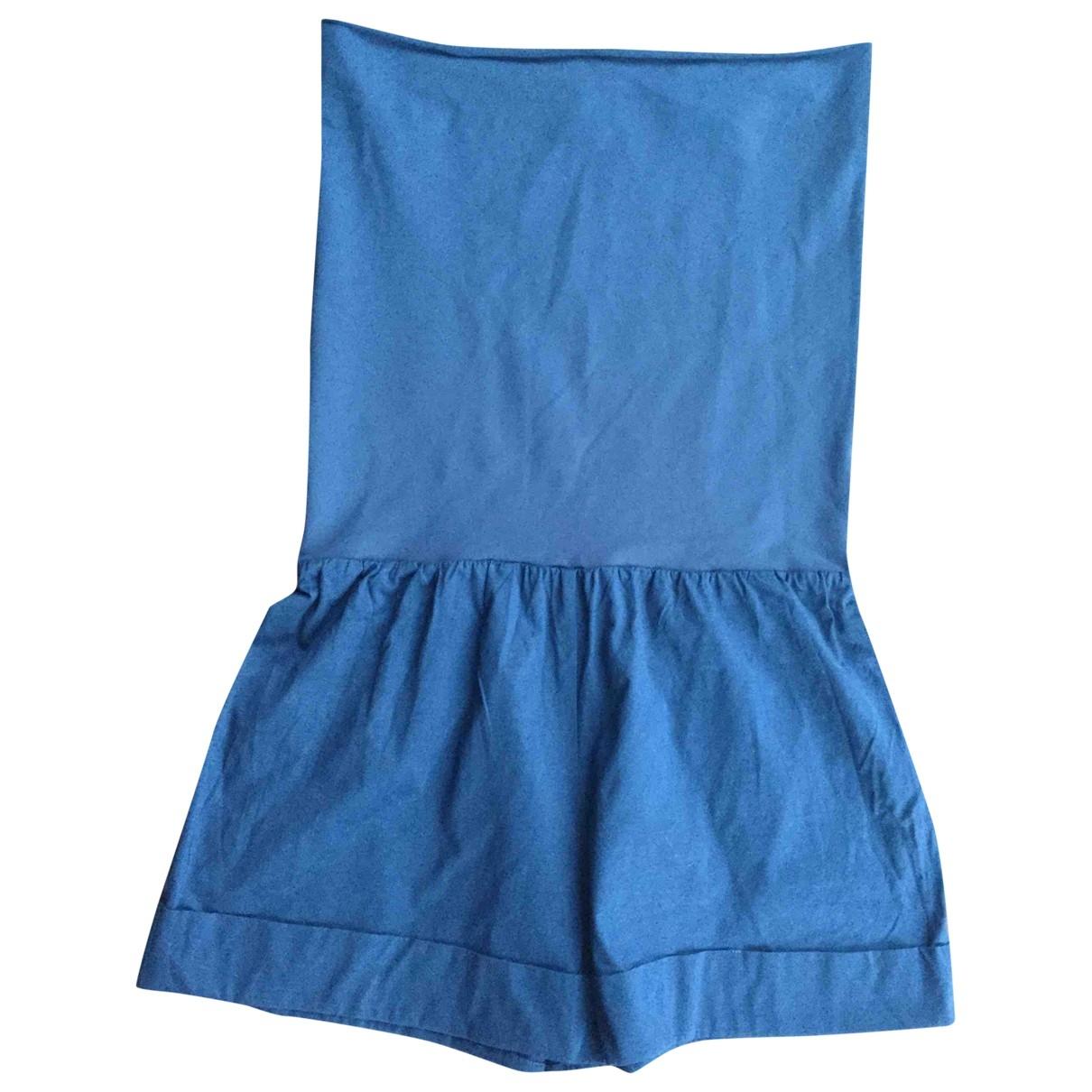Bañadore en Algodon - elastano Azul Eres