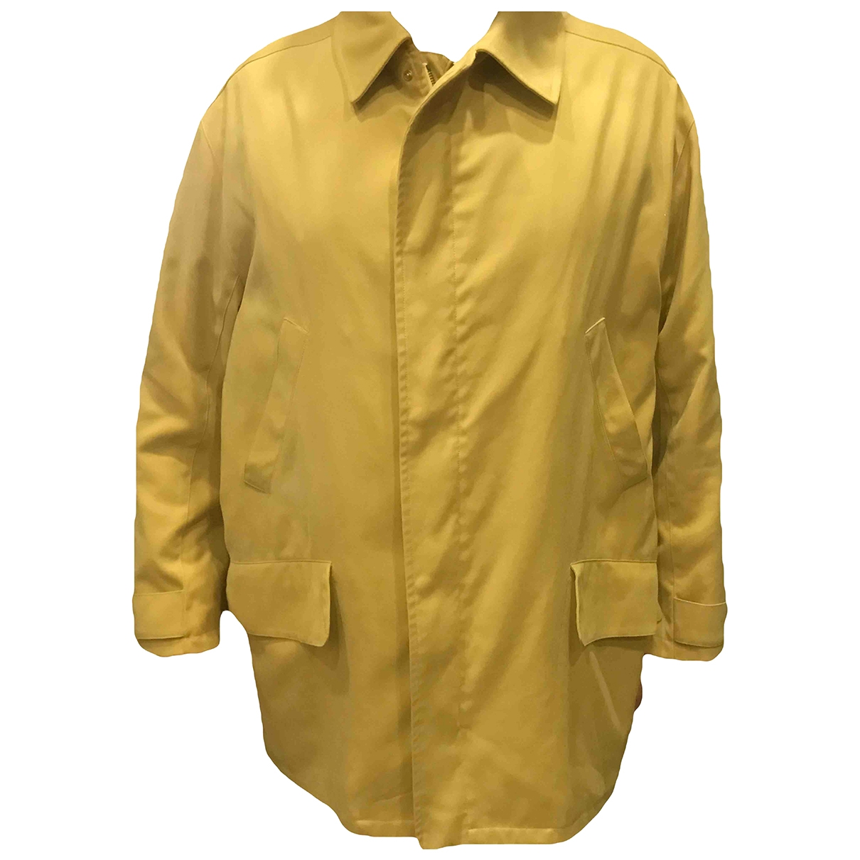 Hermes - Vestes.Blousons   pour homme en coton - beige