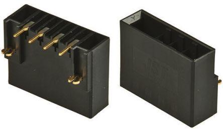 JST , JFA J300, 6 Way, 1 Row, Right Angle PCB Header