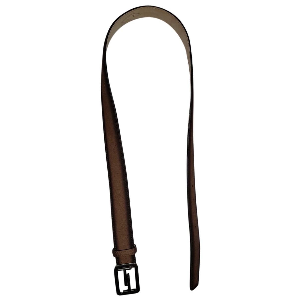 Cinturon de Cuero Tods