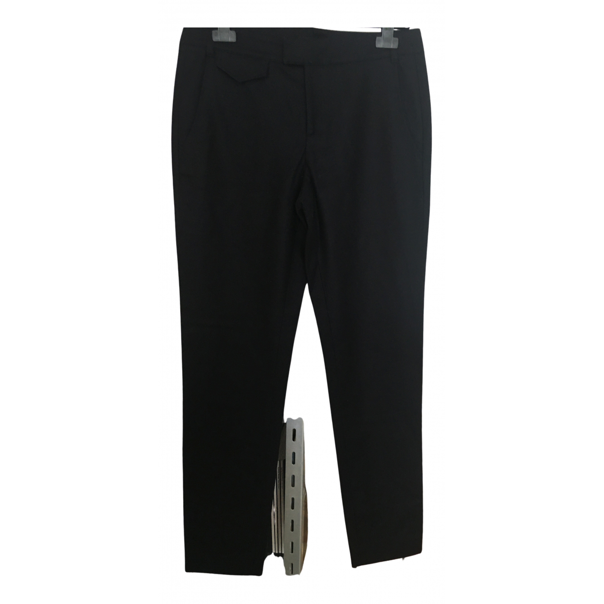 Apc N Navy Wool Trousers for Women 38 FR