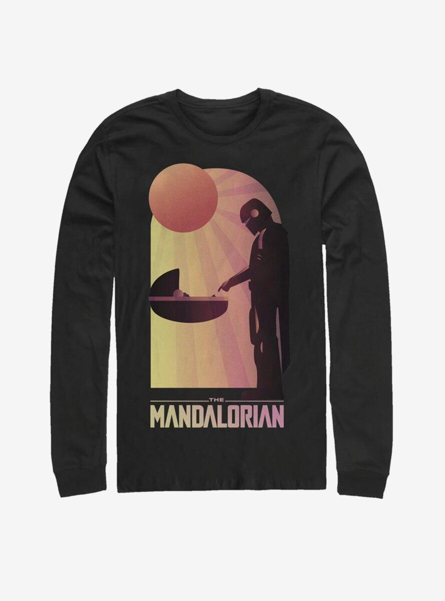 Star Wars The Mandalorian The Child A Warm Meeting Long-Sleeve T-Shirt