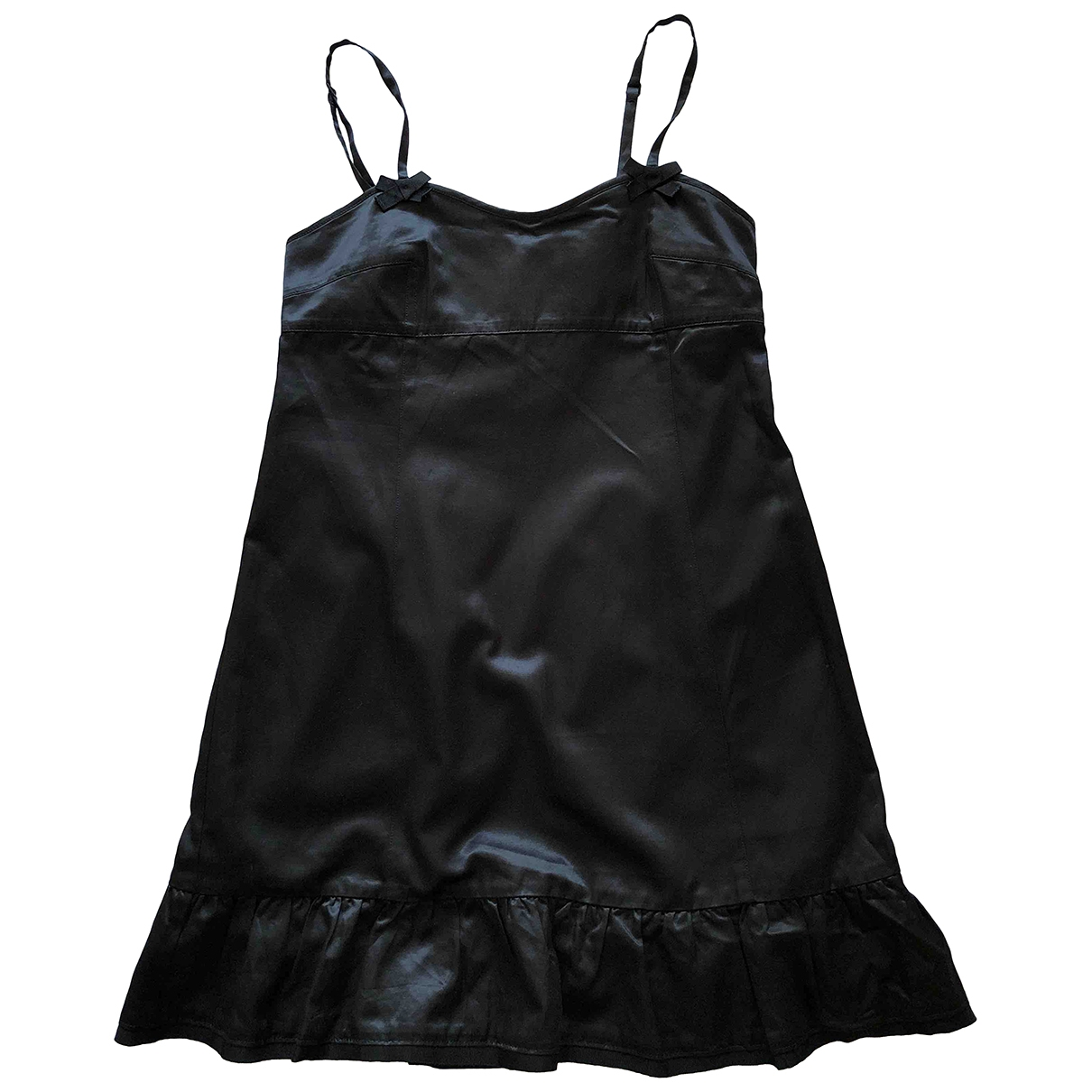 Marc By Marc Jacobs \N Black Cotton dress for Women 6 US