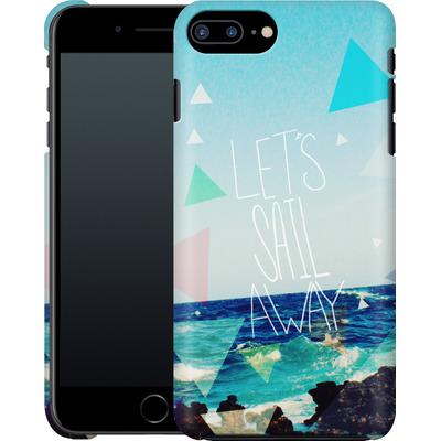 Apple iPhone 7 Plus Smartphone Huelle - Lets Sail Away von Leah Flores