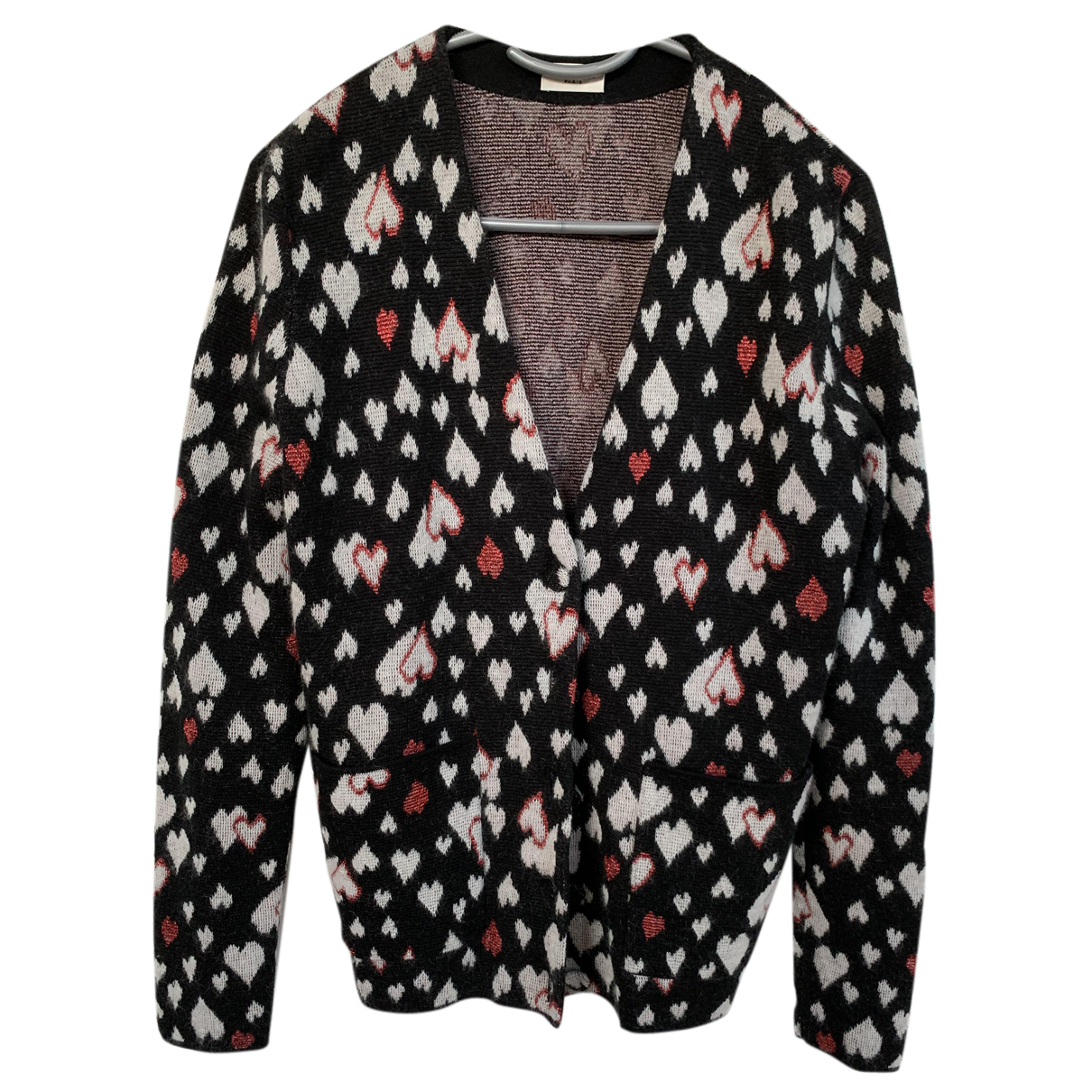 Saint Laurent - Pull   pour femme en laine - noir