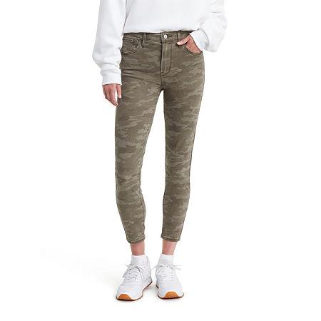Levi's 720 High Rise Super Skinny Cropped Jean, 27 , Green