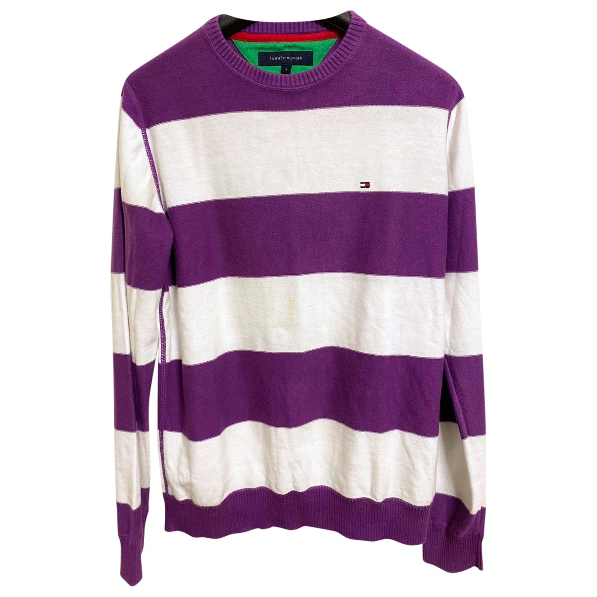Tommy Hilfiger \N Pullover.Westen.Sweatshirts  in  Lila Baumwolle