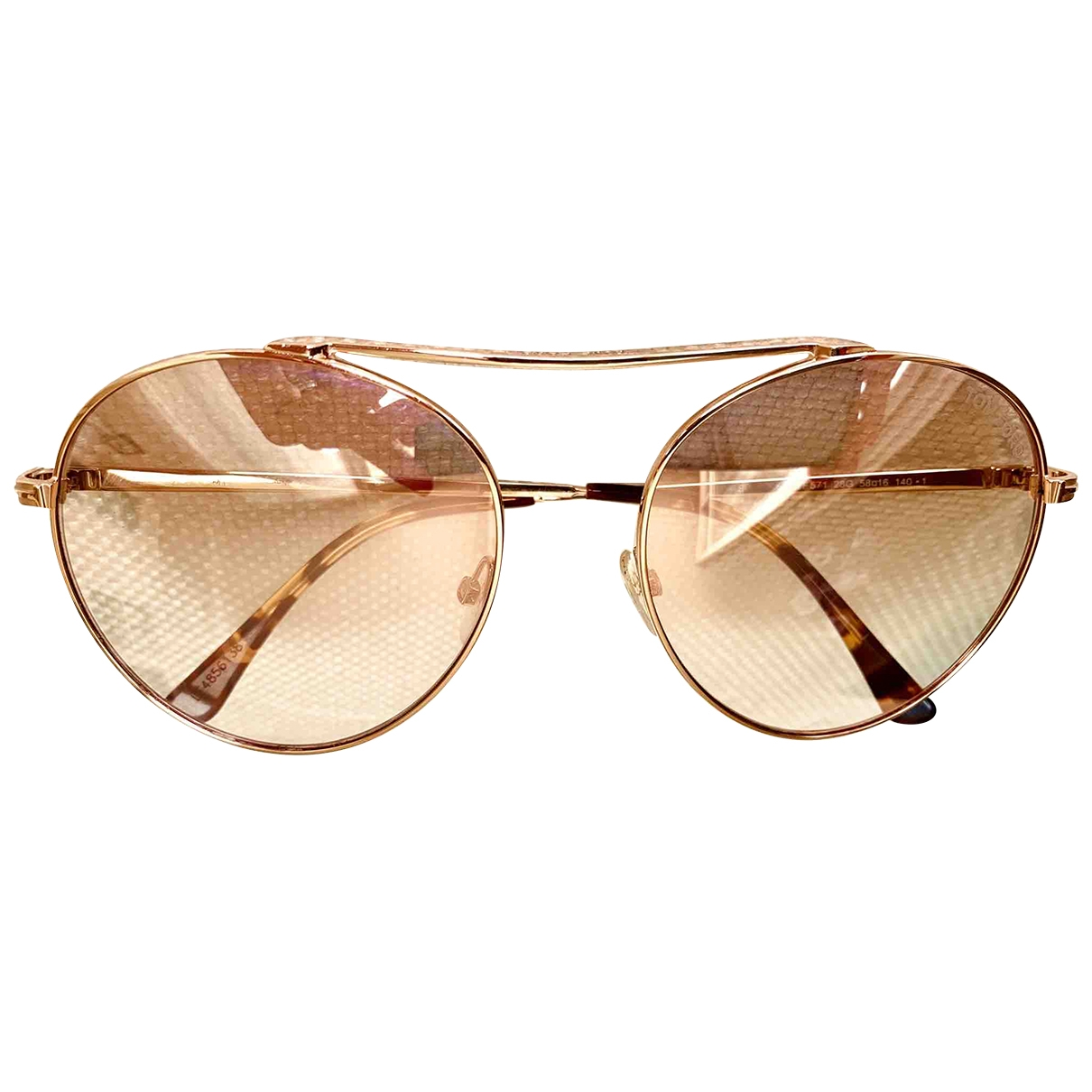 Tom Ford \N Sonnenbrillen in  Rosa Metall
