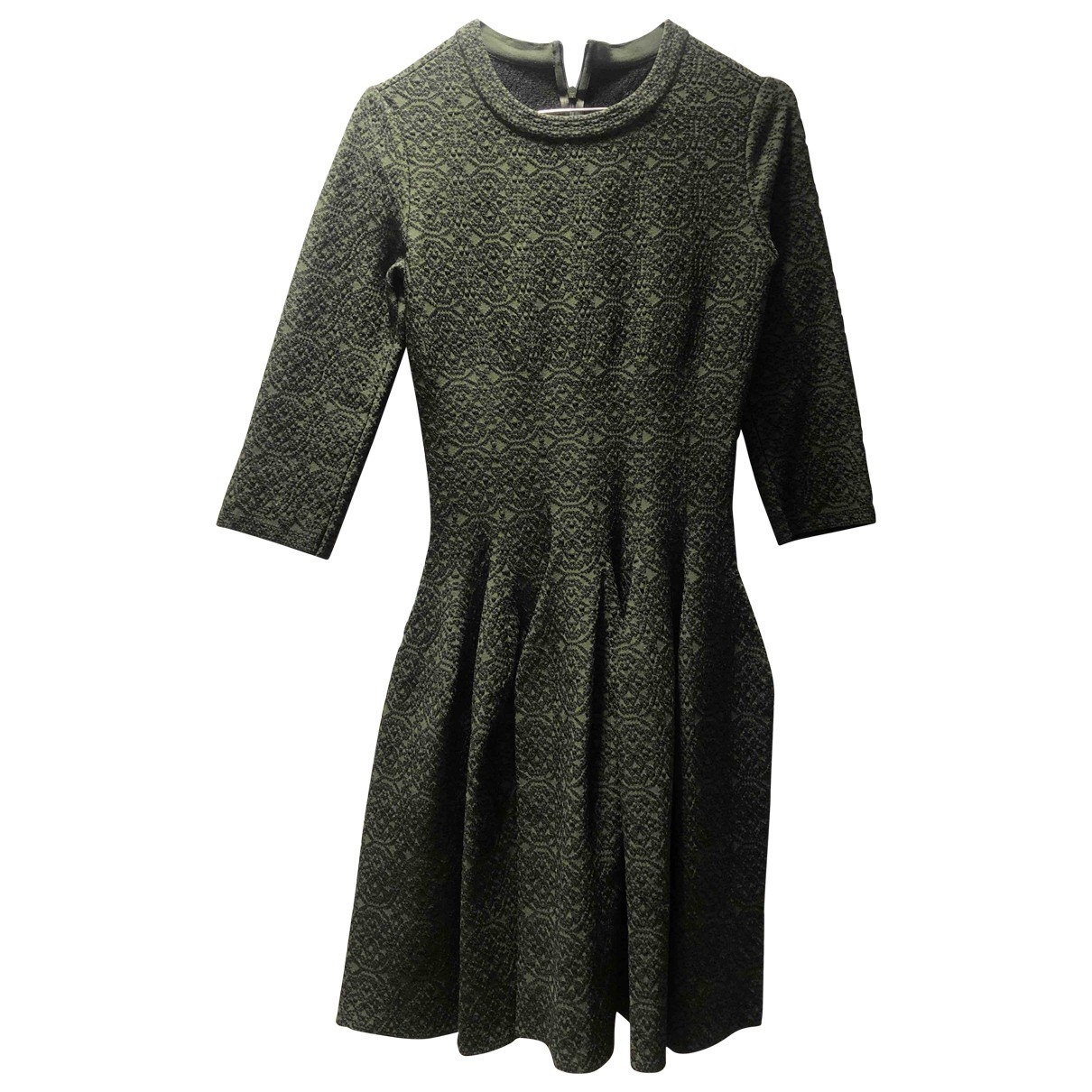 Alaïa \N Green dress for Women 38 FR