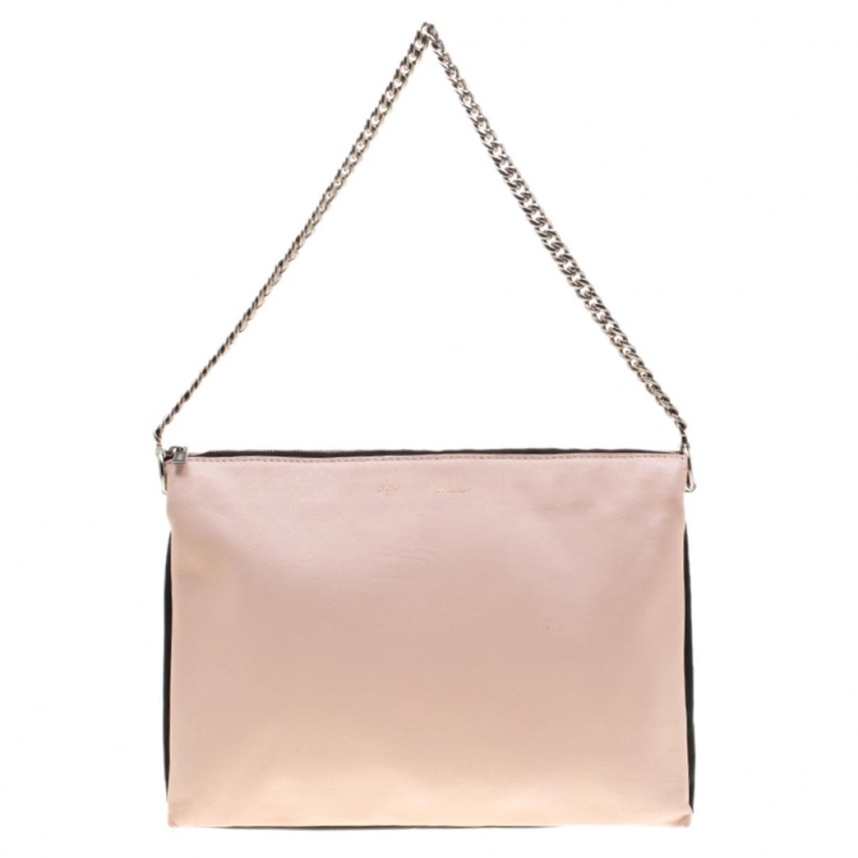 Celine \N Beige Leather Clutch bag for Women \N
