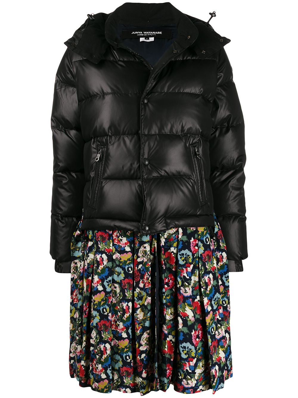 Puffer And Skirt Attached