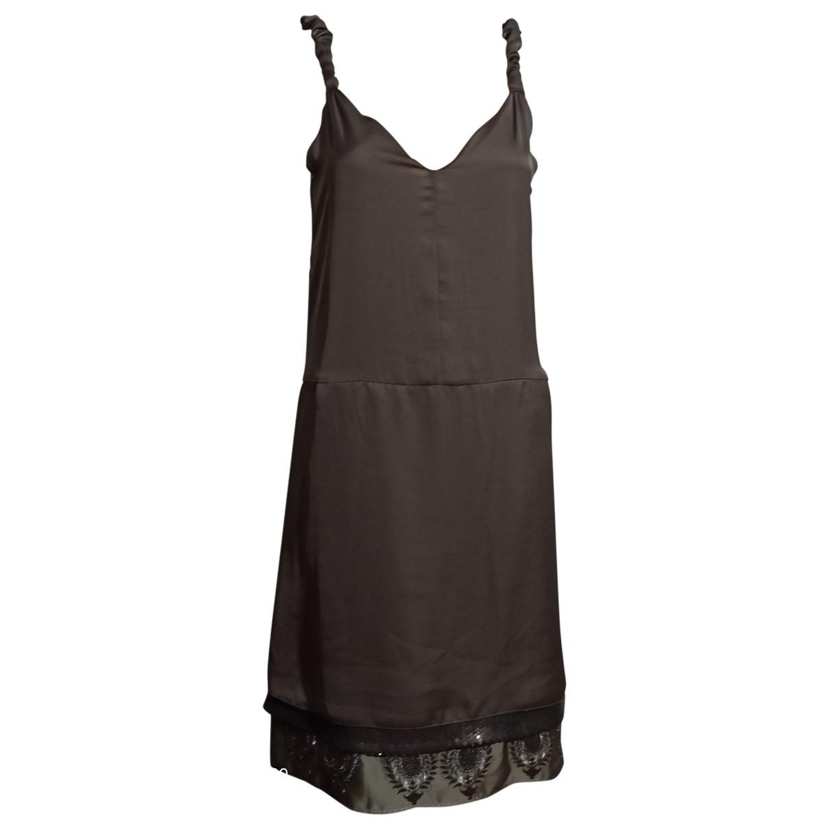 Maliparmi \N Kleid in  Grau Polyester