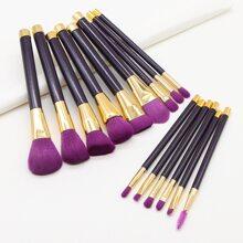 15pcs Soft Makeup Brush
