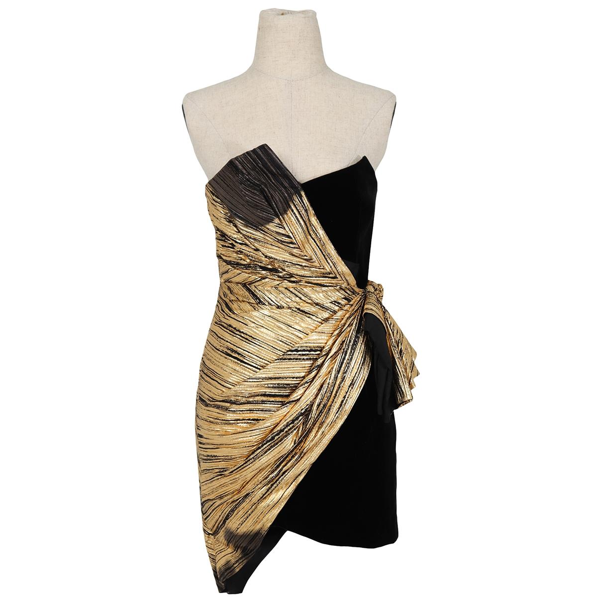 Alexandre Vauthier - Robe   pour femme en coton - dore
