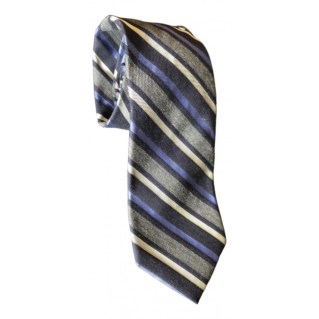 Valentino Garavani \N Krawatten in  Blau Seide